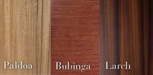 Exotic Woods for Cabinetry