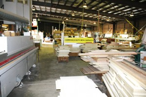 Campbells Kitchens Cabinetry head office, showroom and workshop in Townsville.